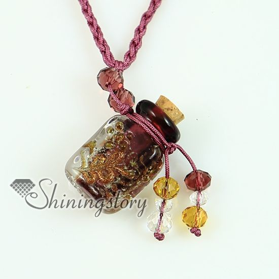 lampwork leaf headpin jewelry | essential oil diffuser necklaces necklace vials for ashes wholesale ...
