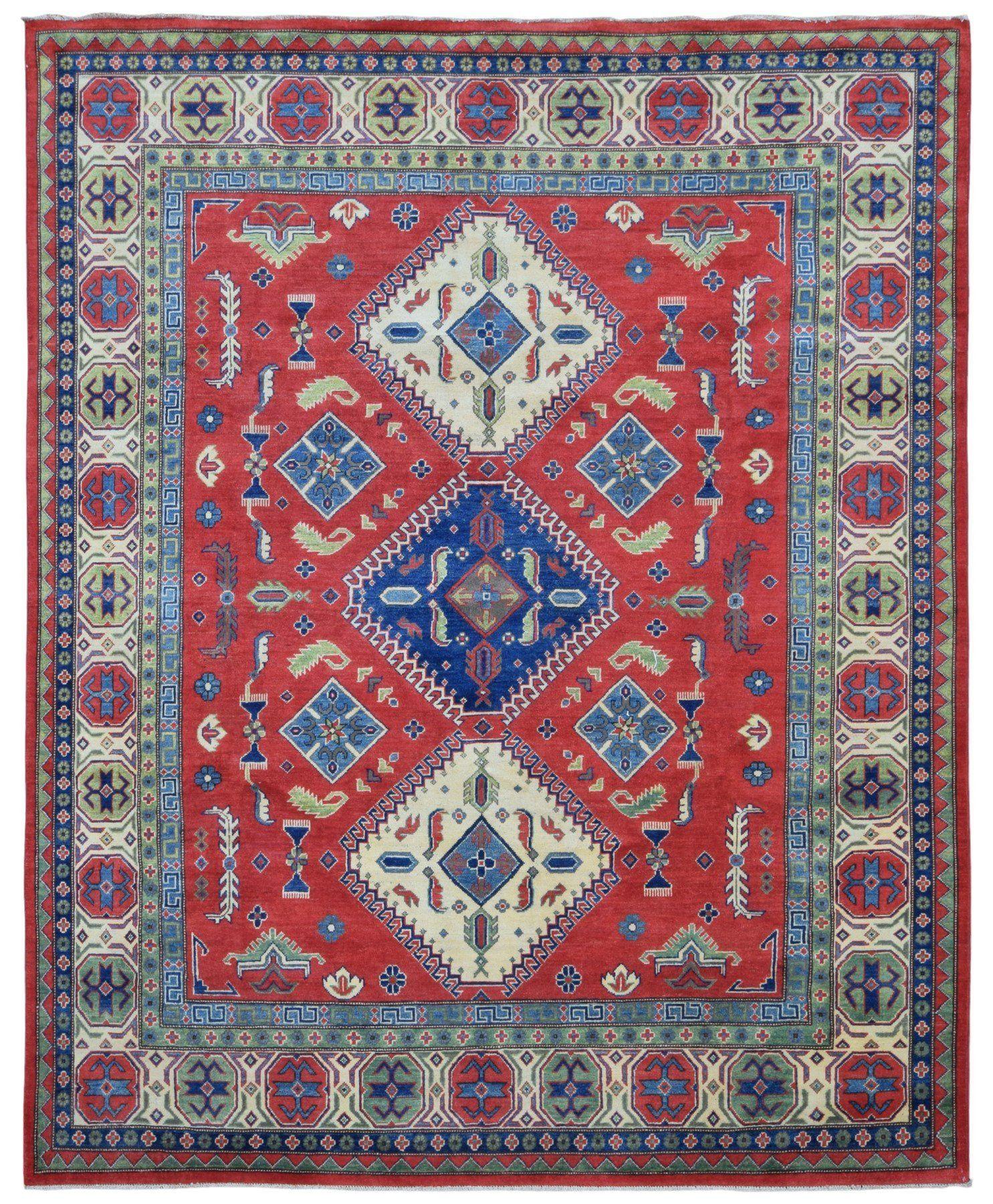 Fine Pakistan Kazak Large Oriental Rug 8'1X9'7