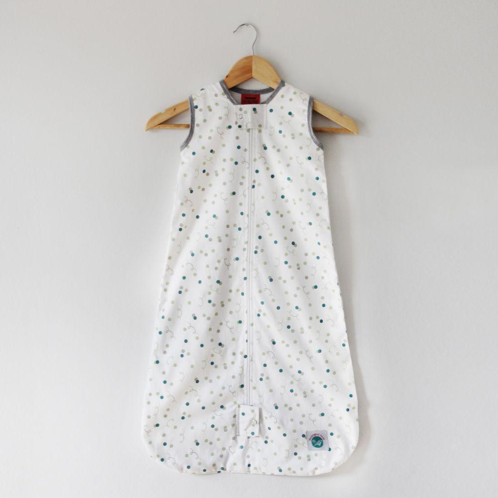 Organic Cotton Baby Sleep Bag - Confetti. Gender Neutral sleep bag ...