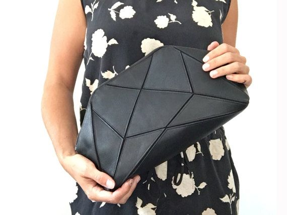 Pochette pliable / Cross body bag - noir