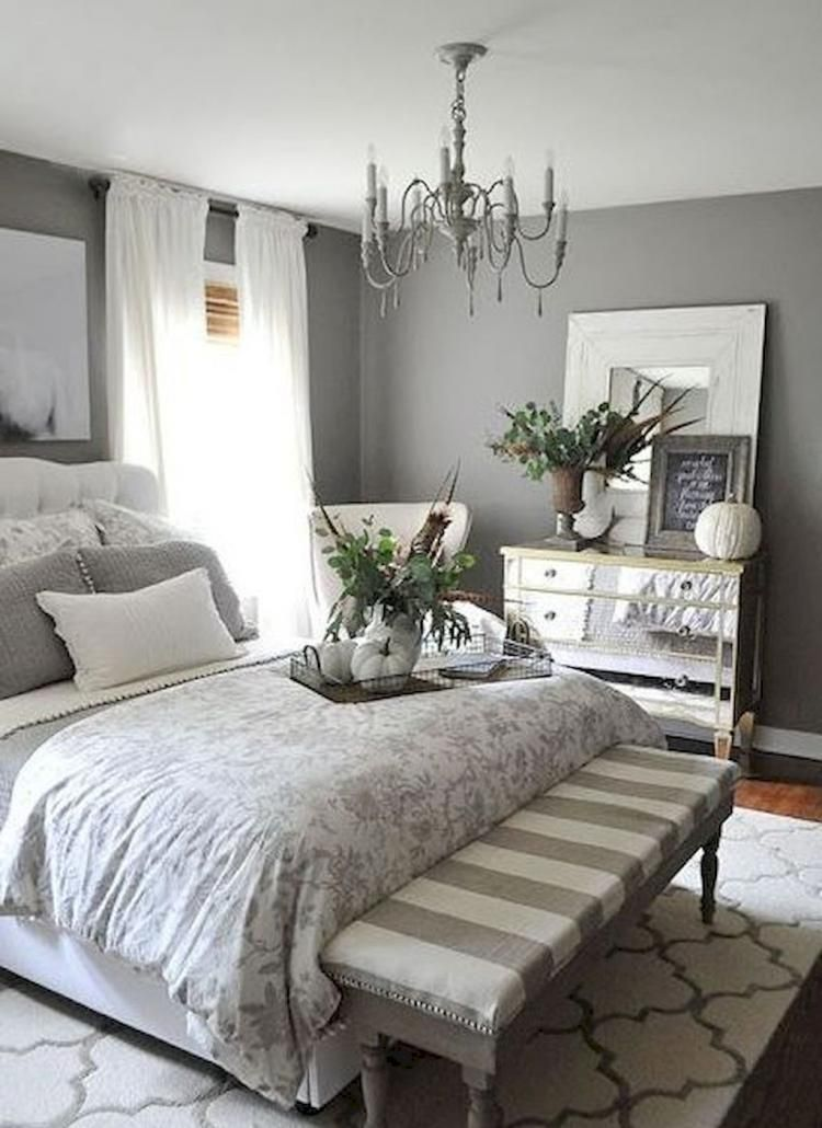 Modern Farmhouse Bedroom Decor Ideas With Images Small
