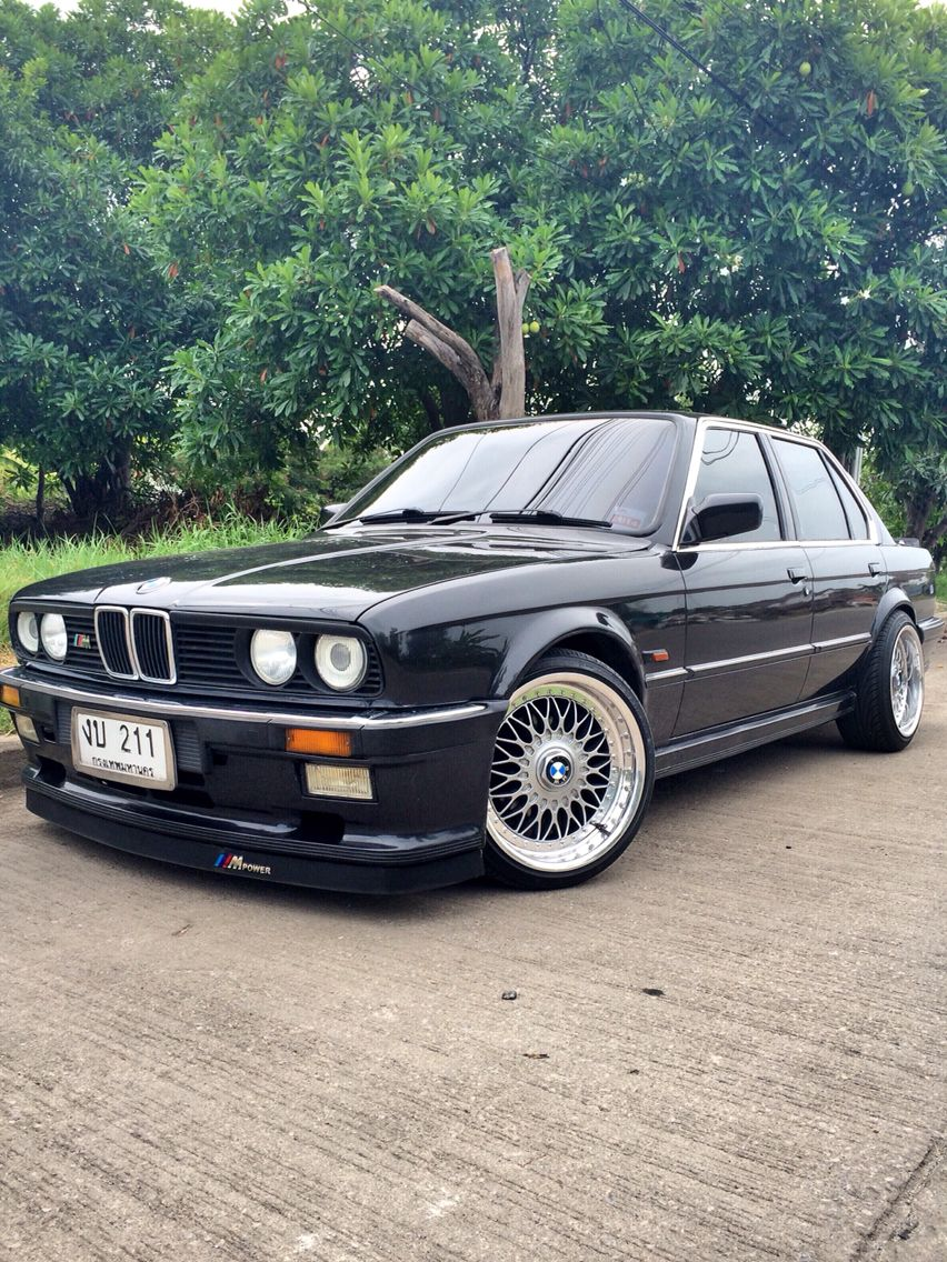 Bmw E30 1987 M Technic1 Style M Bbs Rs Bmw Swap M43 My Old
