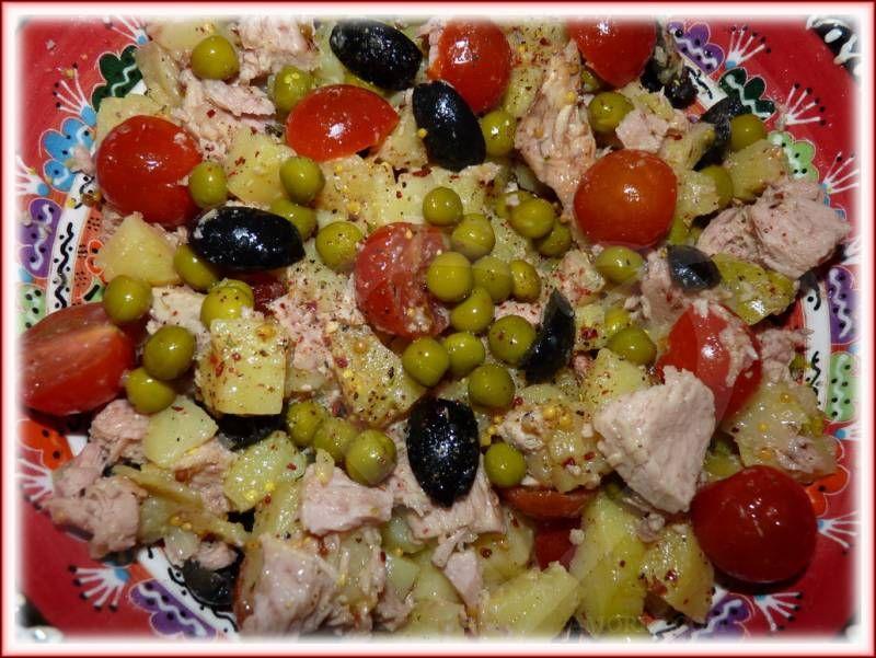 Легкий салат без майонеза с 183