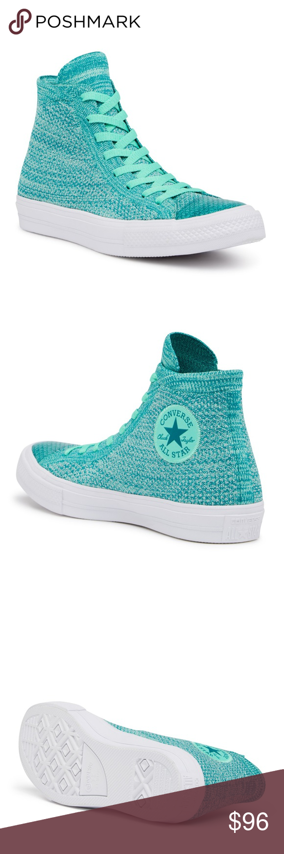 9c006938044a8 Converse Chuck Taylor All Star x Nike FlyKnit Hi-T Sizing  Sized according  to Unisex sizes. Size selection displays Men s (M) and Women s (W) sizing.