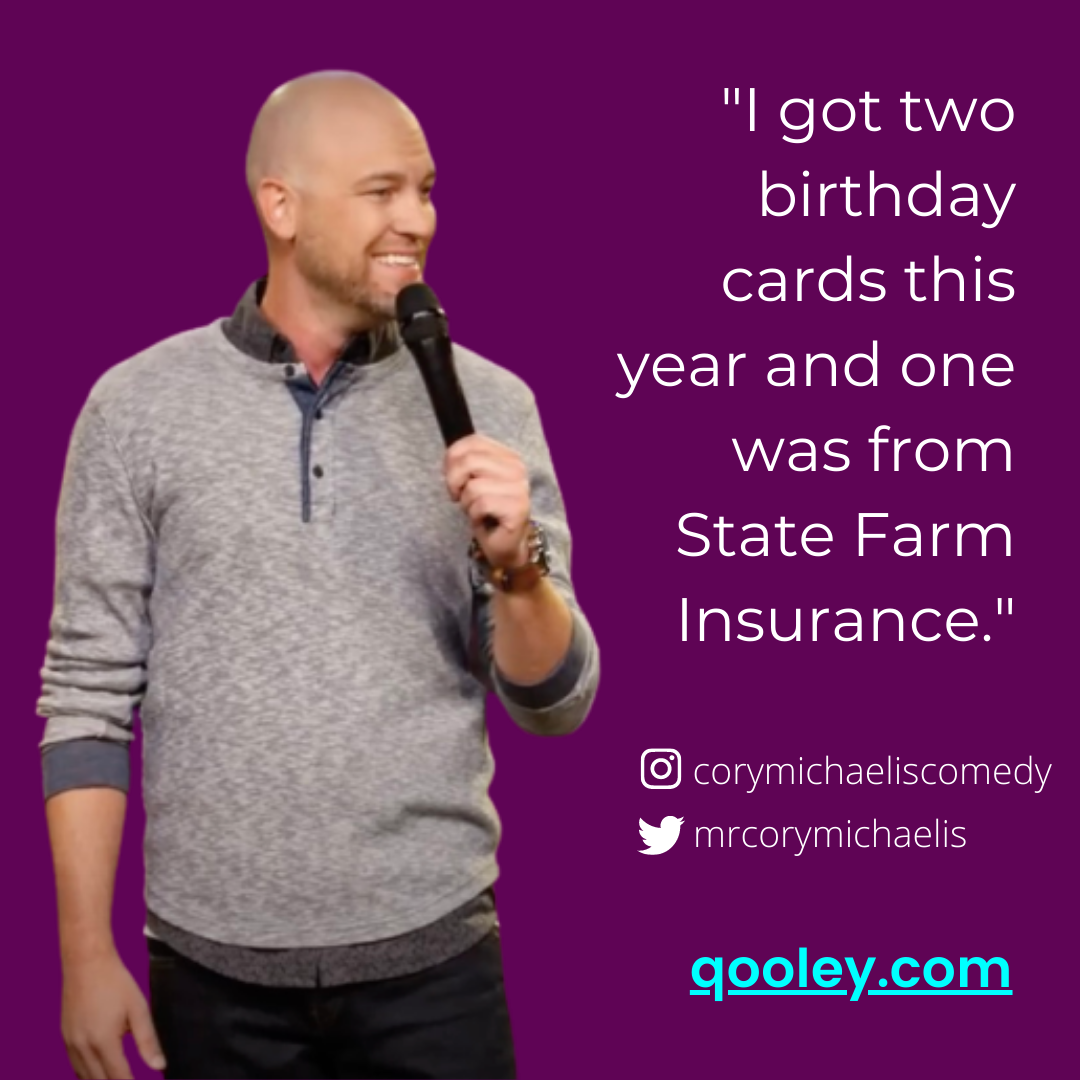 Birthday Quote Getting Old Funny Humor Personalized Books Stand Up Comedians Stand Up Comedy