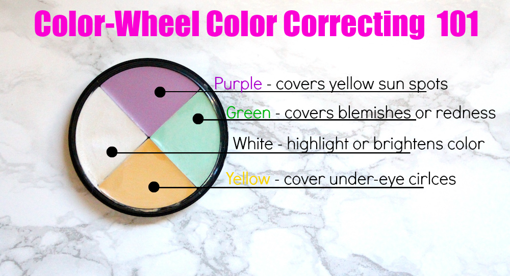 Color Correcting Concealers 101 - MyThirtySpot