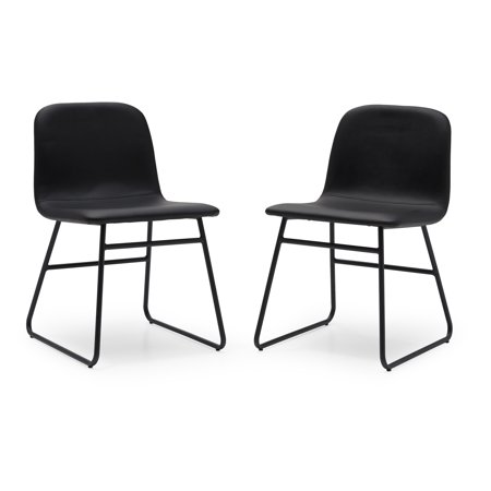 Modrn Industrial Dax Dining Chair Set Of 2 Multiple Colors