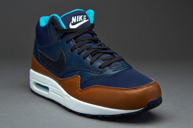 Nike Air Max 1 Mid FB BlueBrownBlack