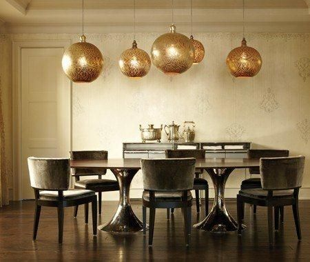 Zenza Lights Over Dining Table From House And Home Magazine
