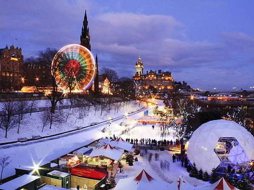 Image result for edinburgh christmas
