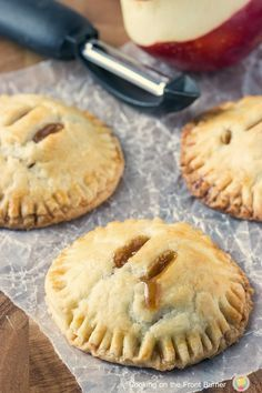 Apple Hand Pies | Cooking on the Front Burner | Have apples?  Then make these easy apple hand pies with a bit of caramel