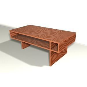 Genial I Like This, But Would Paint Some Of It Or Use Different Faced Wood. Coffee  Table ...