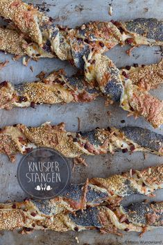 Knusperstangen • Maras Wunderland #fingerfoodrezepteschnelleinfach