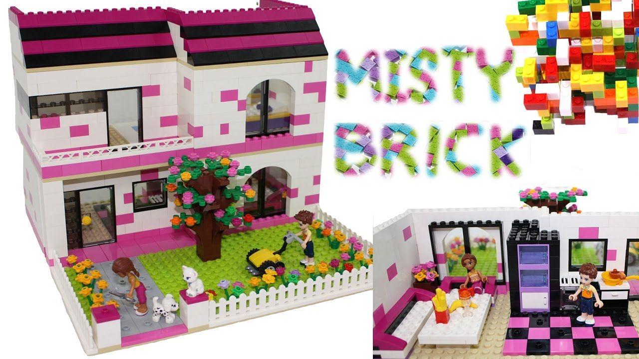 Lego Friends House 16 By Misty Brick Lego Videos Lego Friends