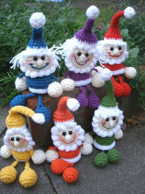 Wichtel Häkeln Deko Selber Häkeln Diy Crocheting