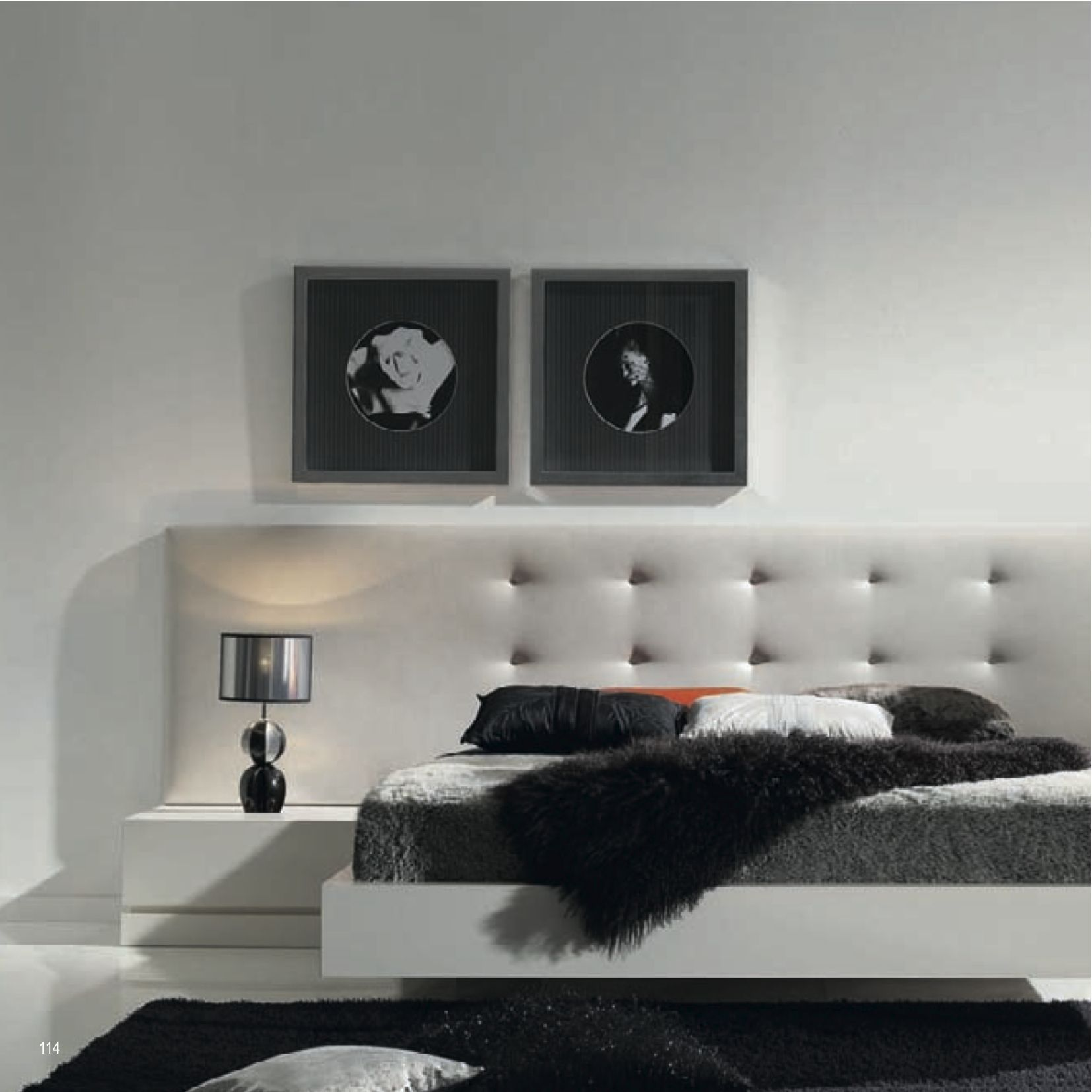 Best Contemporary Bedhead And Floating Bed Home Decor Bedroom 640 x 480