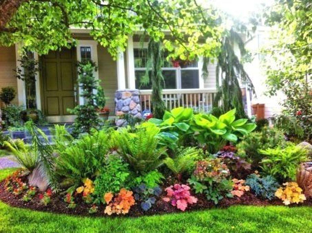 36 Stunning Front Yard Cottage Garden Landscaping Ideas Outdoor