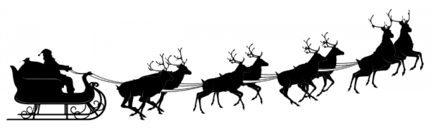 Santa Sleigh Silhouette Png Merry Christmas Day 4 This Is Santa Sleigh Silhouette Png Merry Chris Santa Sleigh Silhouette Santa Sleigh Christmas Sleigh