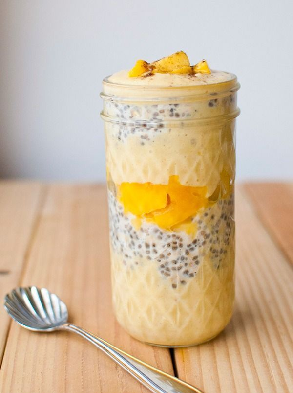 Overnight Oats Recipes for Weight Loss Mango Lass overnight oats - several overnight oat recipes!Mango Lass overnight oats - several overnight oat recipes!