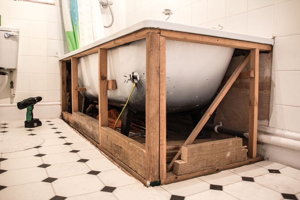 How to Make Your Own Bath Panels | Pinterest | Bath panel, Bath and ...