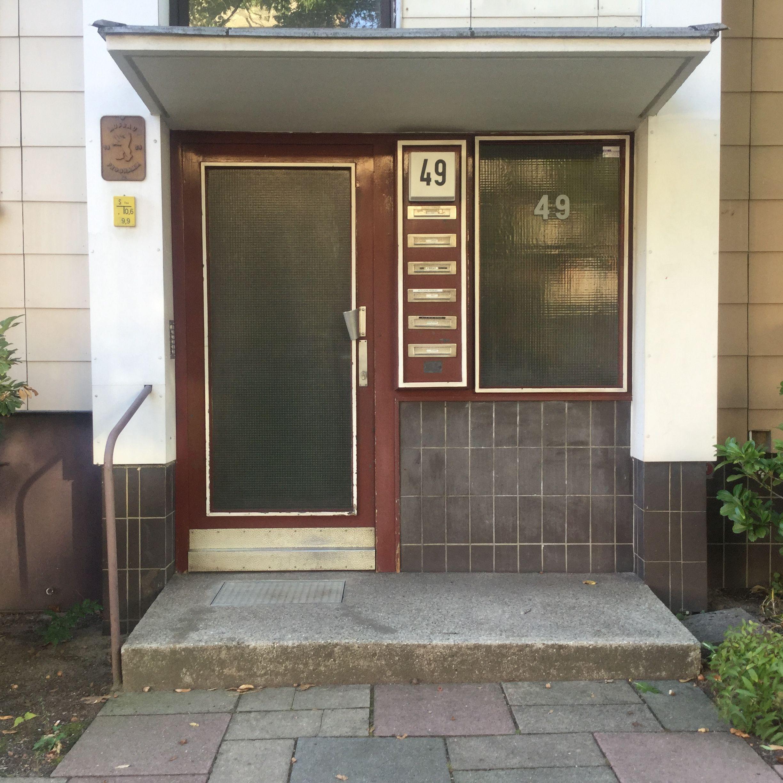 Berlin Steglitz Hauseingang Haus Und Eingang