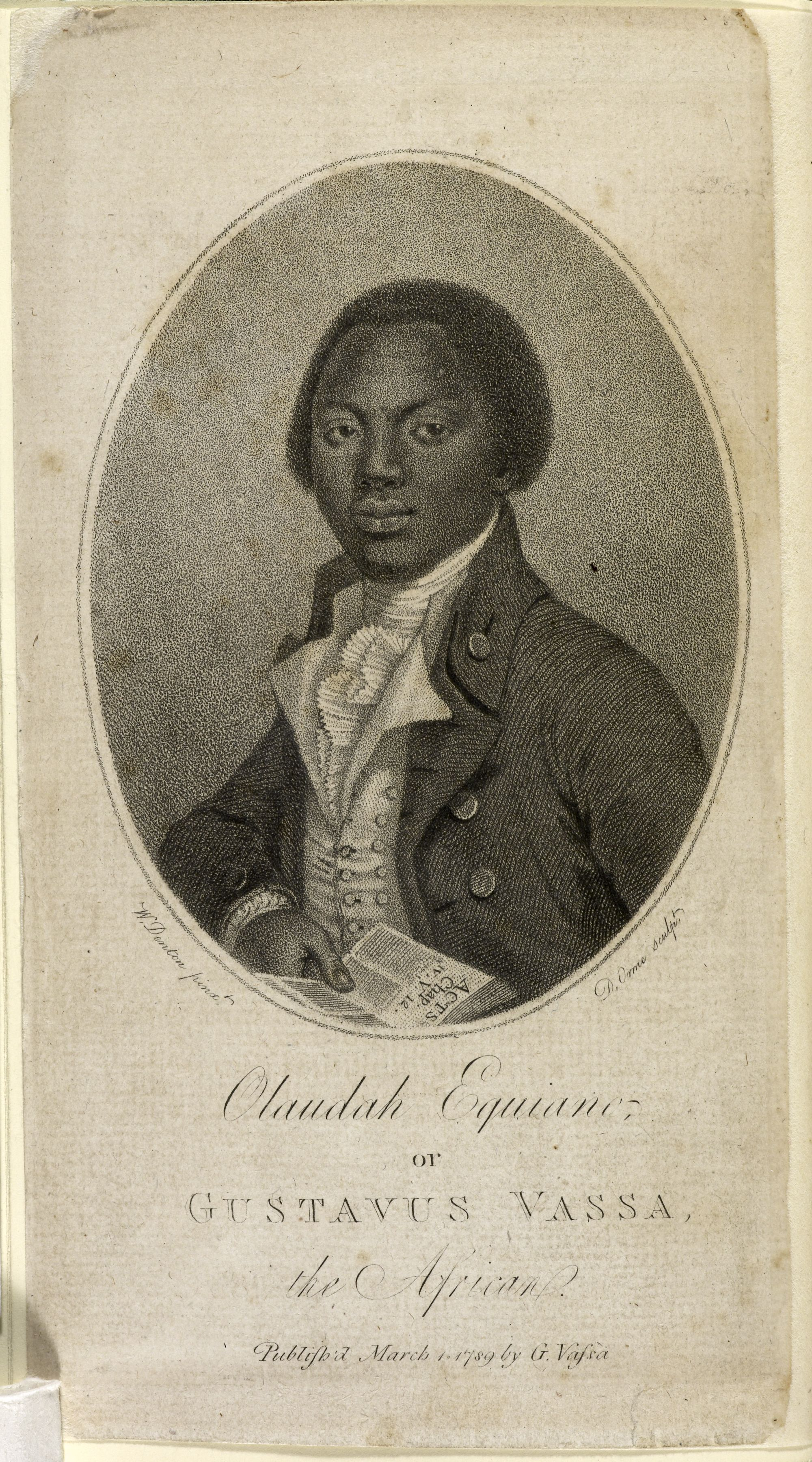Olaudah Equiano (c. 1745–97) is the most famous 18th ... | 2000 x 3599 jpeg 1634kB