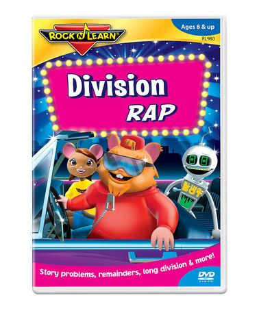 Take a look at this Division Rap DVD by Rock 'N Learn on # ...
