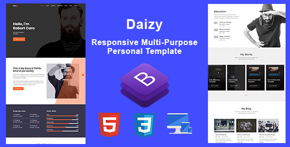 Daizy Is A Personal Portfolio Template You Can Use This Any