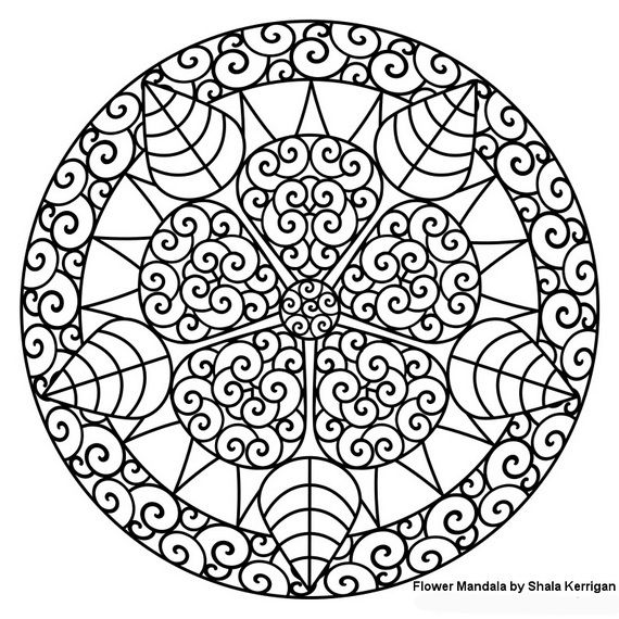 a very fresh spring design shala kerrigan httpwww - Coloring Pages With Designs