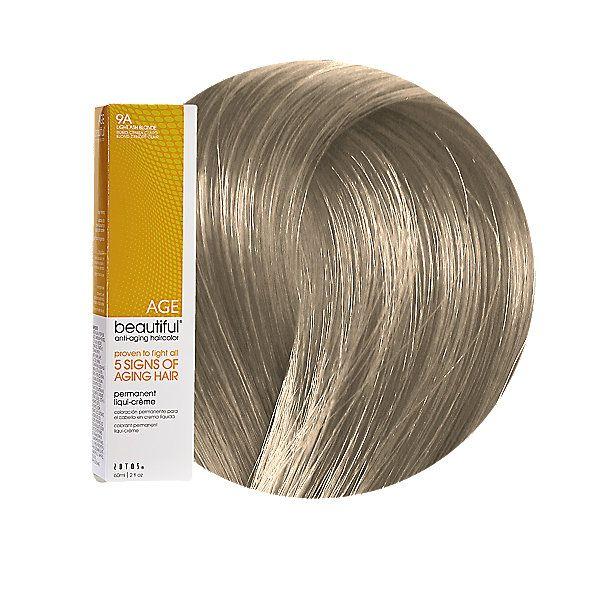 9a Light Ash Blonde Permanent Liqui Creme Hair Color By Agebeautiful Permanent Hair Color Hair Color Light Ash Blonde Blonde Color Chart
