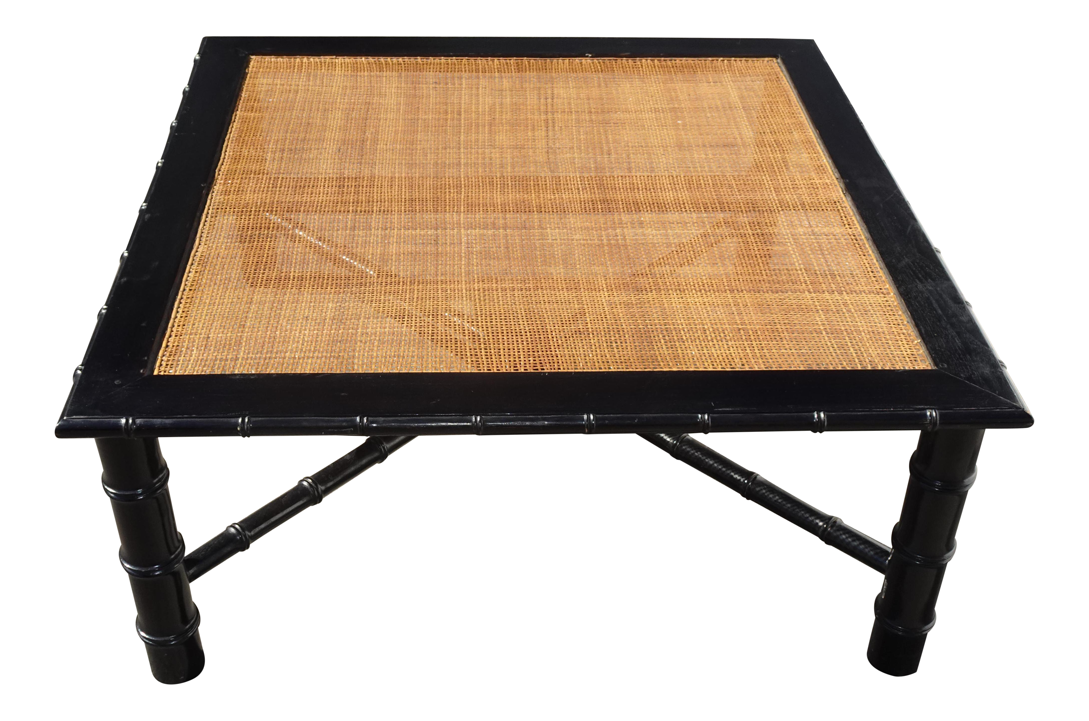 Vintage French Hollywood Regency Black Cane Coffee Table Made In Italy French Vintage Coffee Table Vintage Hollywood Regency [ 2887 x 4364 Pixel ]