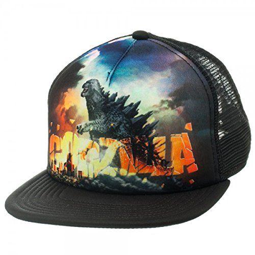 f6f96b6c3 Amazon.com: Godzilla Poster Foam Snapback Trucker Hat: Toys & Games ...
