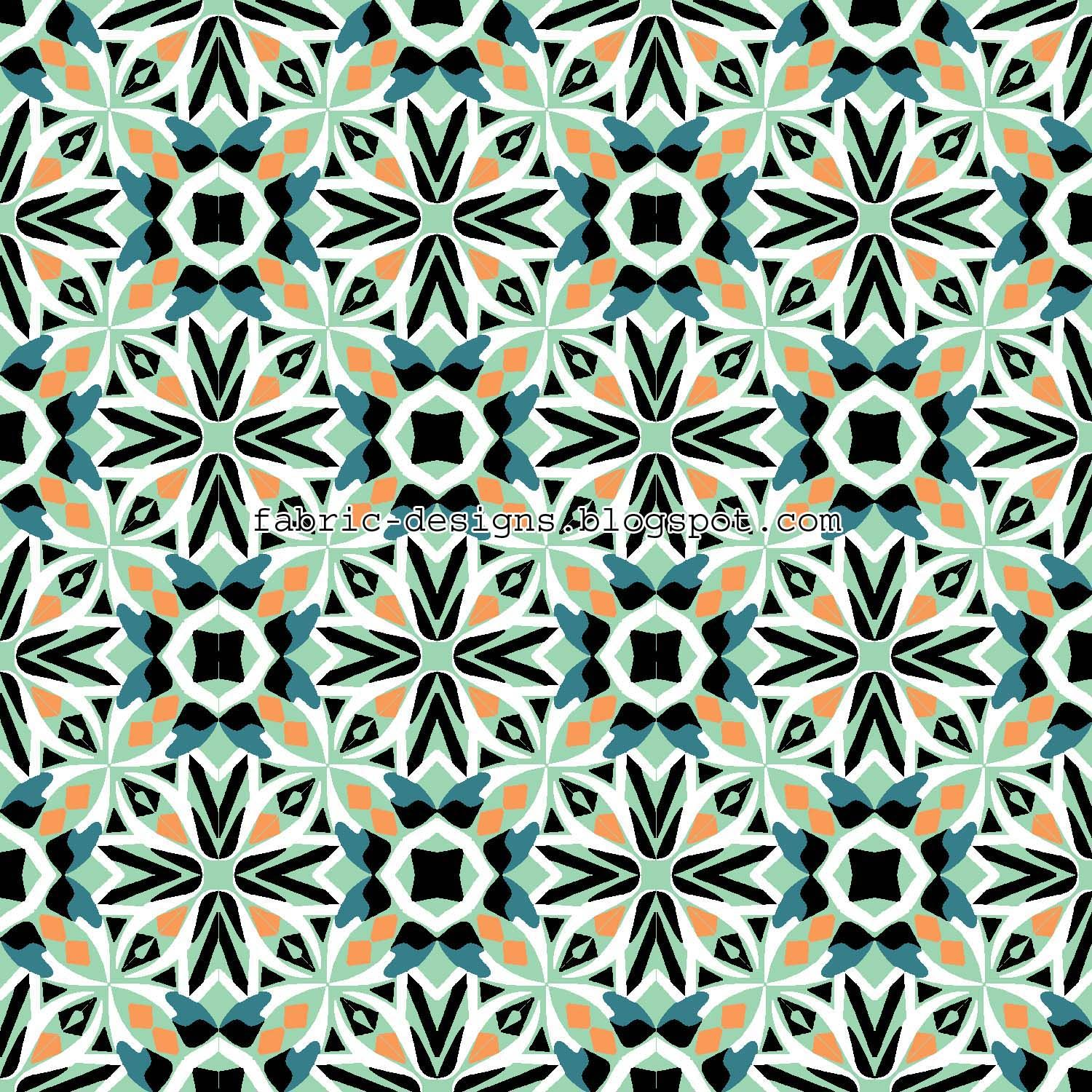 geometric patterns | geometric patterns for fabric and textile designing
