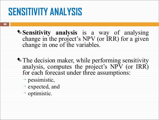 Bee Business Bee Investment Appraisal Net Present Value (NPV - investment analysis