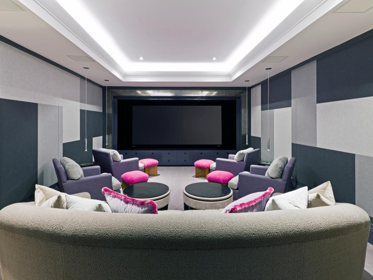 Amazing Home Theater Designs | Remodeling ideas, Theatre design and Hgtv