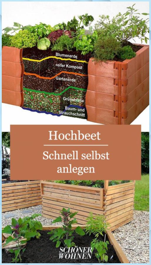 Hochbeet Selbst Anlegen Garten Pflanzen Hochbeet Selbst Anlegen Garten Pflanzen In 2020 Hochbeet Hochbeet Selber Bauen Garten Hochbeet
