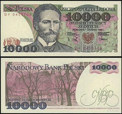 Poland 100 Zlotych 1986 P-143e Banknotes UNC