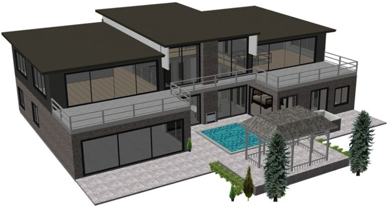 3d house - Google-søk | Hus | Pinterest | House design pictures ...