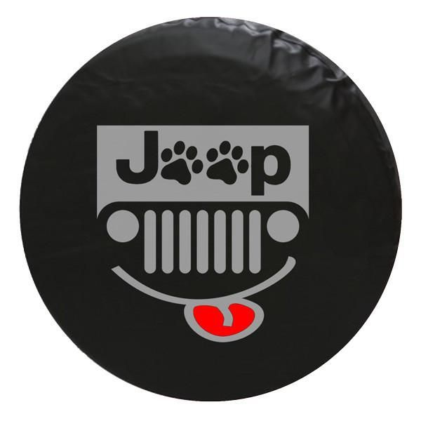 Jeep Paw Grill Vinyl Spare Tire Cover Tire Cover Spare Tire