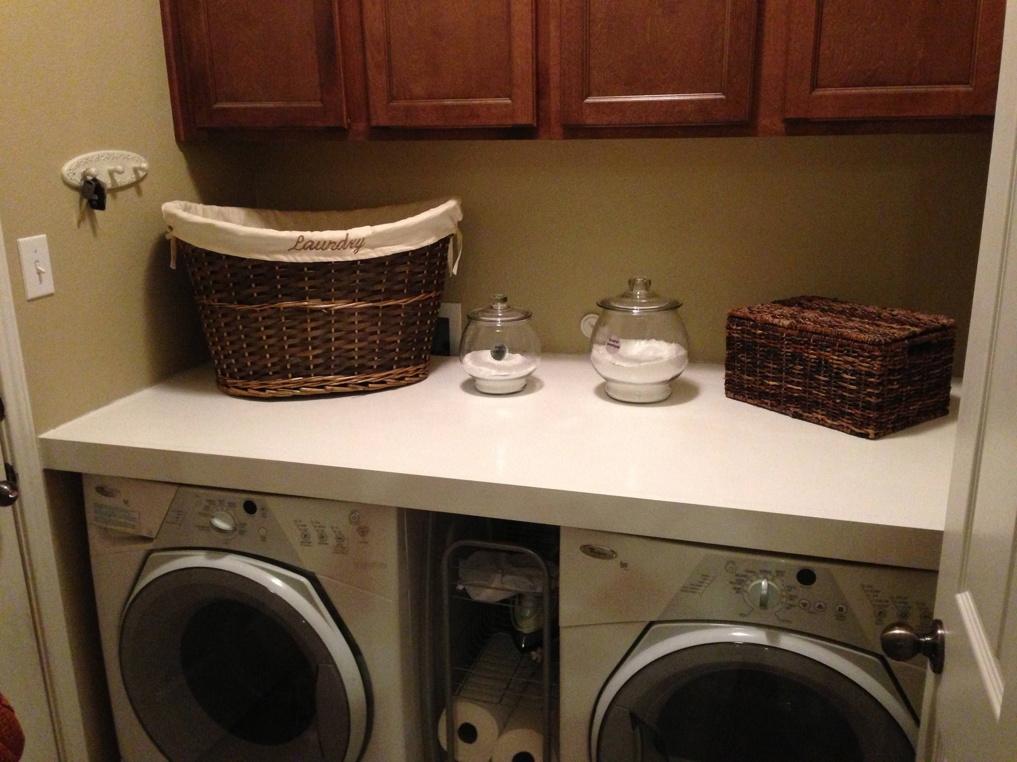 Laundry Room Countertop Install