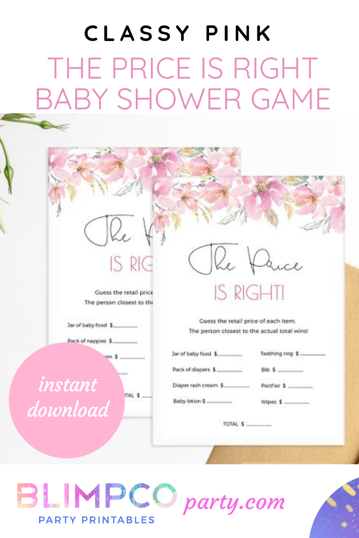 Baby Shower Printable The