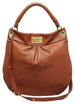 cad66edf3 Class Q Hillier Brown Leather Hobo Bag | Handbags | Marc jacobs hobo ...