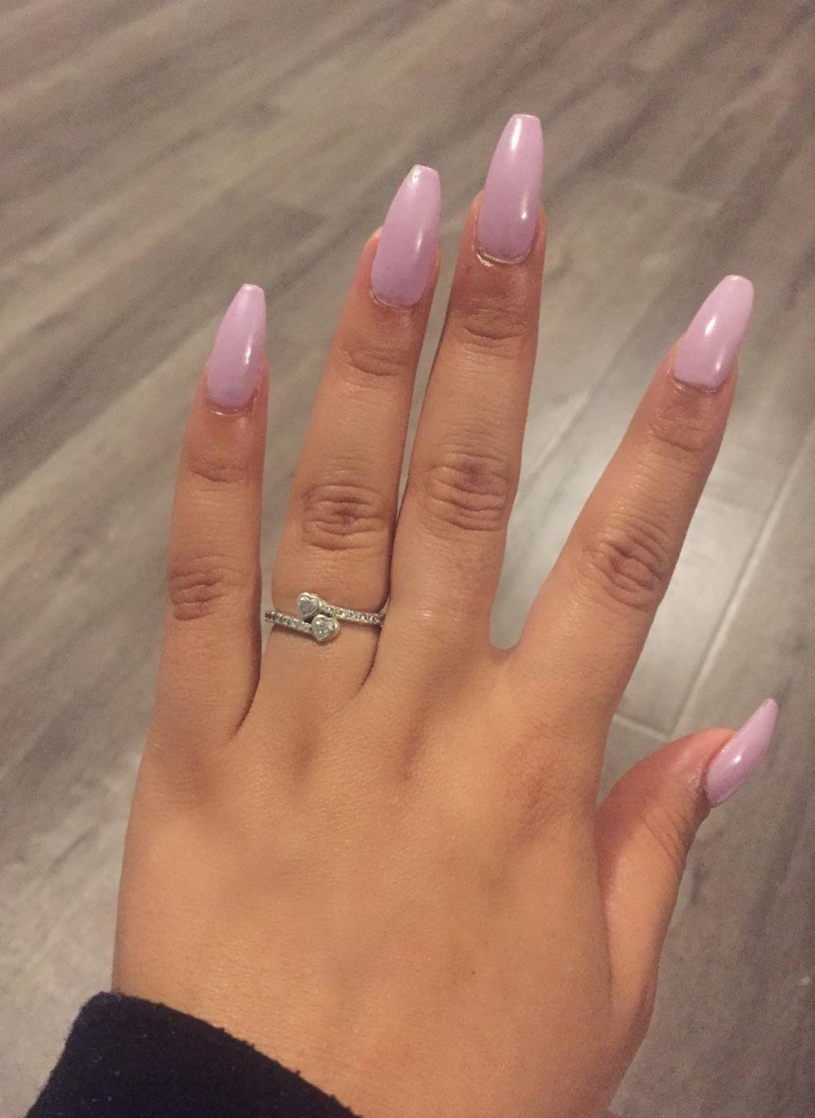 Amazon Com Makartt 500pcs Coffin Nails Clear Ballerina Nail Tips Full Cover Acrylic False Nails 10 Sizes For Nail Salons And Diy Nail Art Beauty Acryl