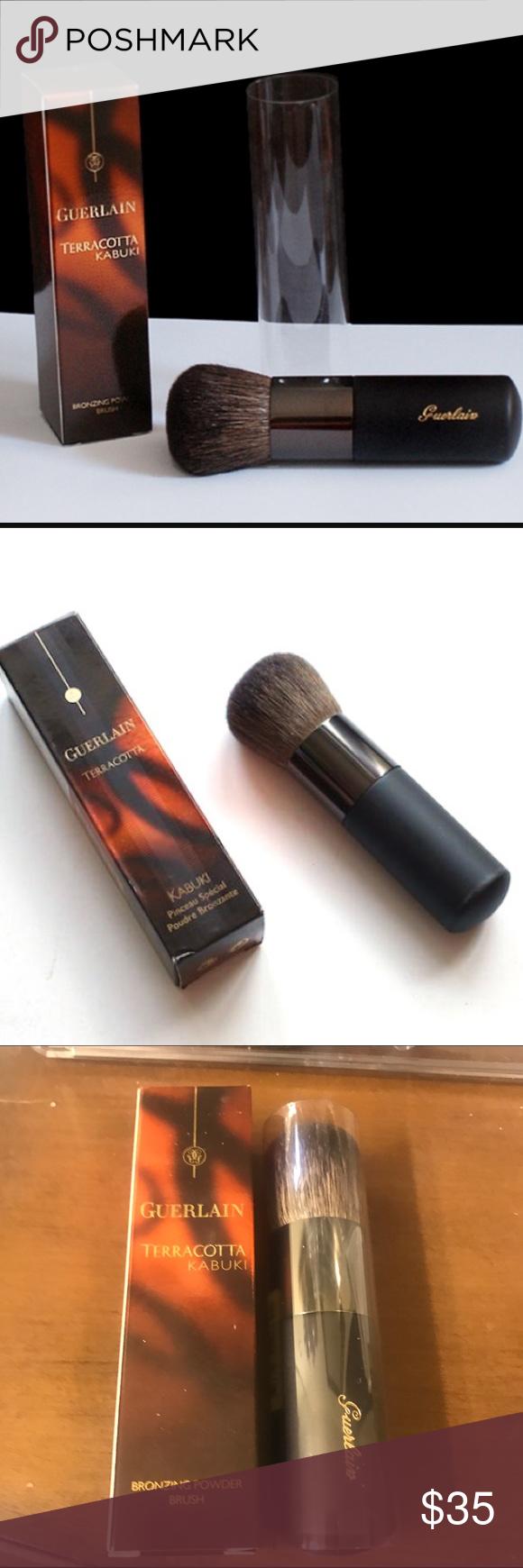 NEW Guerlain Terracotta Kabuki Brush Brand new full size. Retailed for over $60 Makeup Brushes & Tools