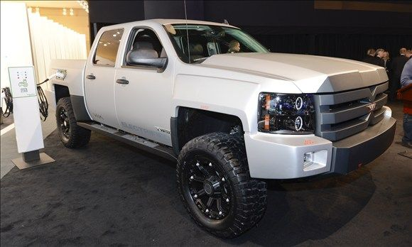 Via Motors. 2013. This includes the XTRUX, an 800 horsepower, four-wheel drive, high-performance pickup truck with up to 100 mpg fuel economy,