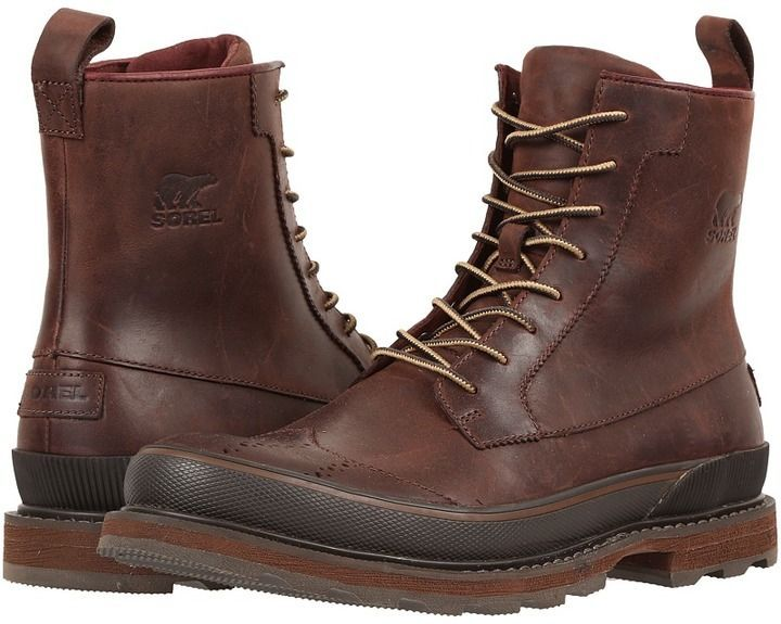 f5a7fb0a0 Sorel Madson Wingtip Boot | Products | Mens waterproof boots, Mens ...