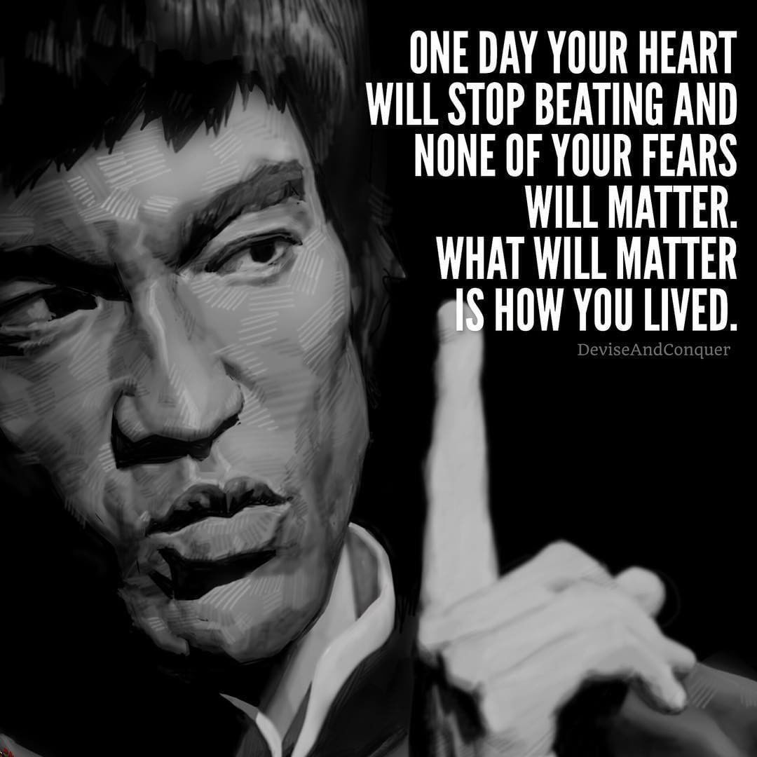 What Will Matter Is How You Lived