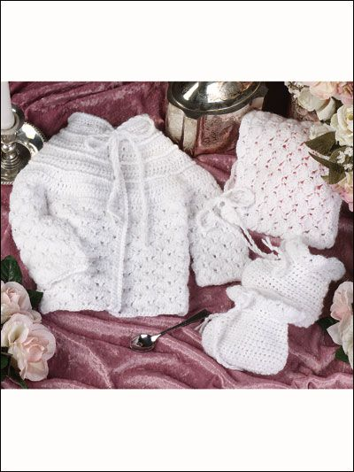 Crochet Christening Outfits Patterns For Baby Boys And Baby Girls