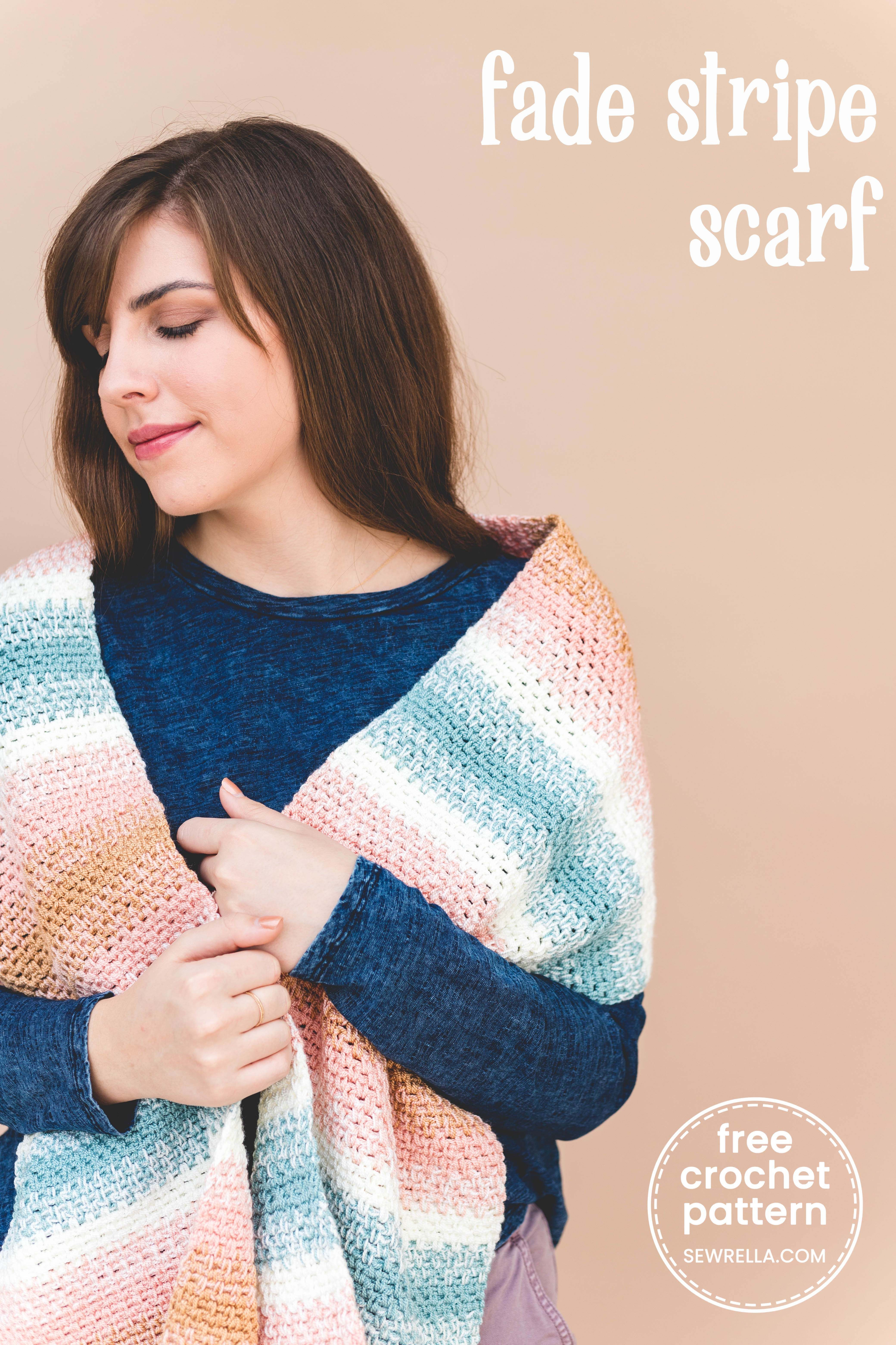 Crochet Fade Into You Scarf Free Crochet Patterns From My Favorite