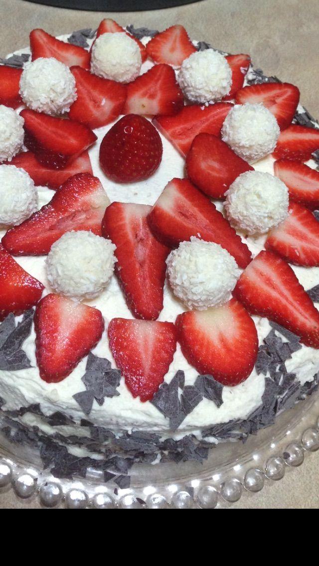 Erdbeer Torte von Serap